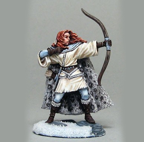 Bande de femmes pour Frostgrave Wildling-spearwife-with-bow